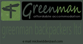 Greenman Backpackers, Chepstow